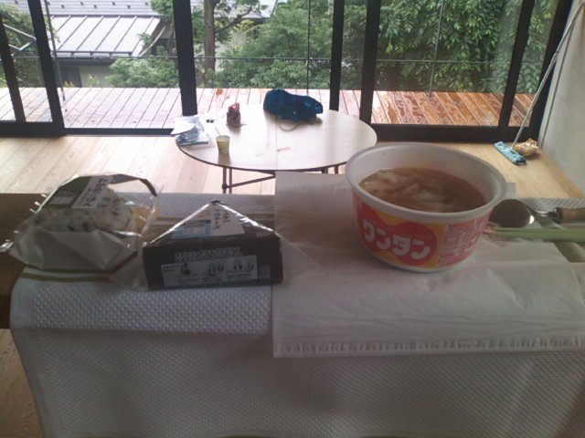 今朝の朝食(^^;