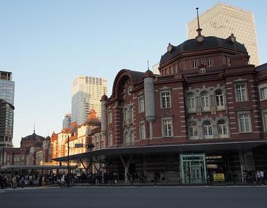 Tokyostationdaytimeview