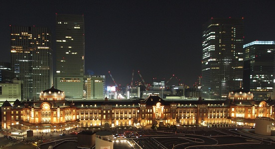 Tokyostationnightview